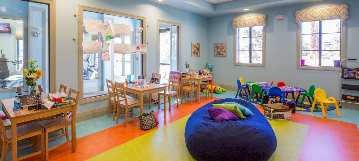 Oasis clubhouse childrens play room