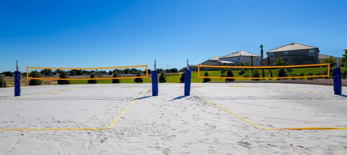 Volleyball Courts at ChampionsGate Resort