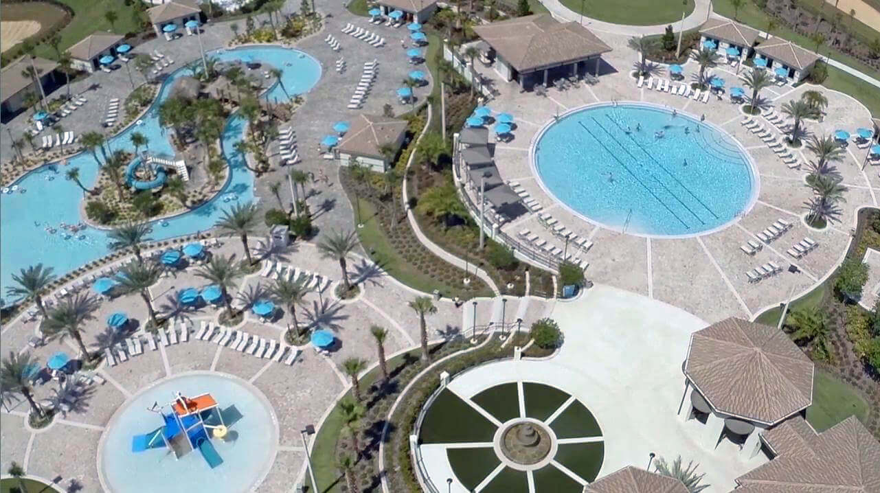 ChampionsGate water park complex aerial shot