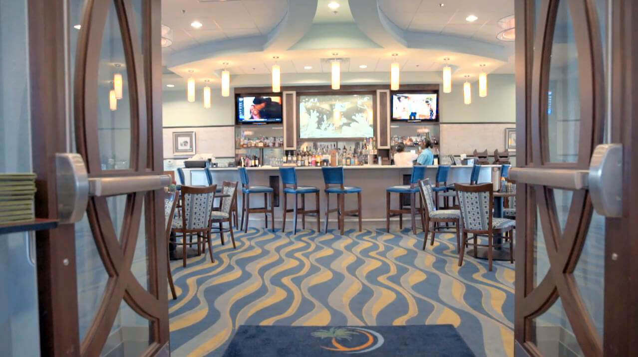 Oasis clubhouse bar at ChampionsGate