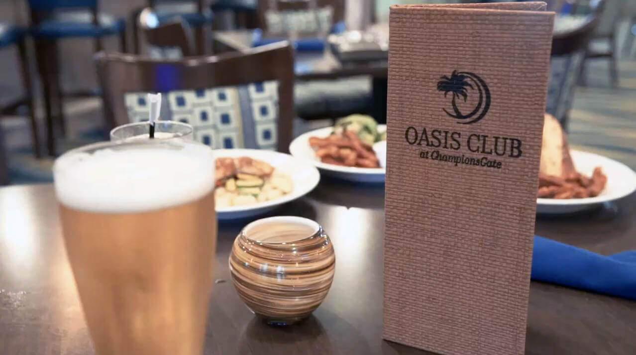 Oasis Grille restaurant food