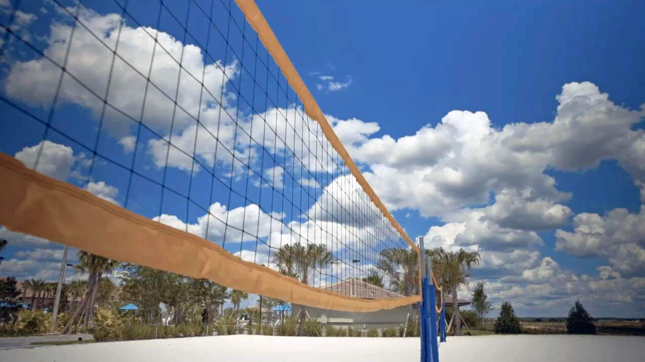 Volleyball courts at ChampionsGate