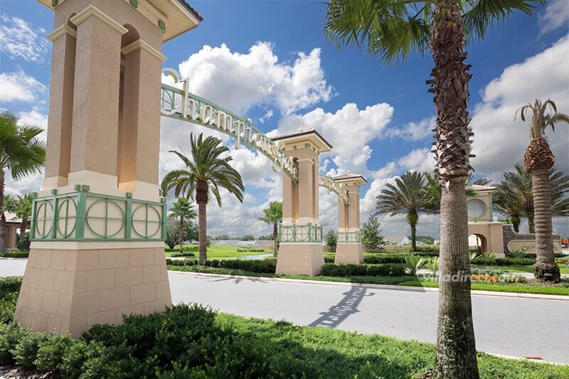 Entrance to the ChampionsGate resort