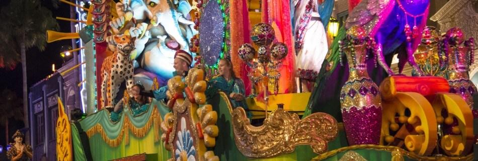 Mardi Gras at Universal Orlando 2016