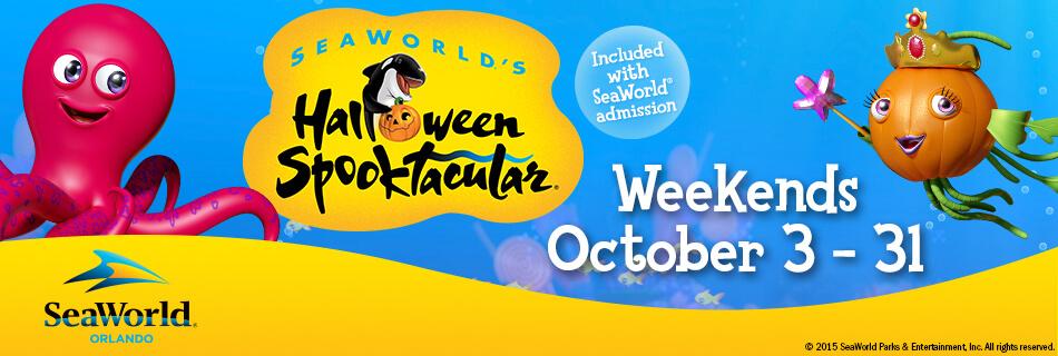 Halloween Spooktacular at SeaWorld