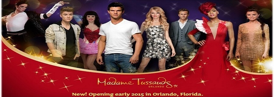 See the Stars at Madame Tussauds in Orlando!