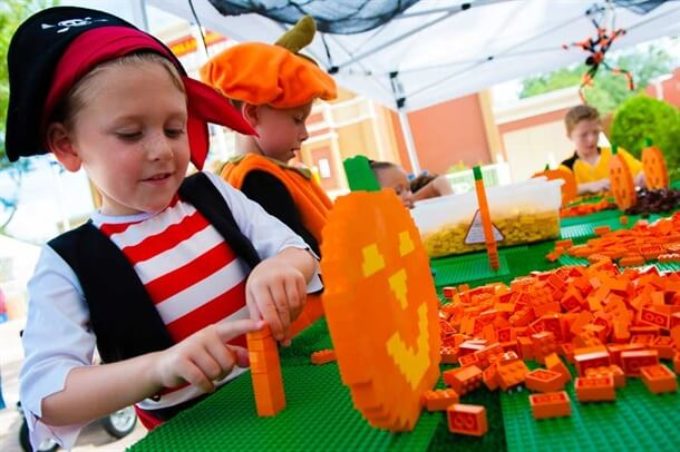 Orlando Halloween Events LEGOLAND Brick or Treat