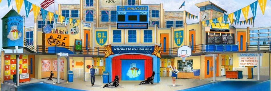 Clyde and Seamore's Sea Lion High Arrives at SeaWorld April 16
