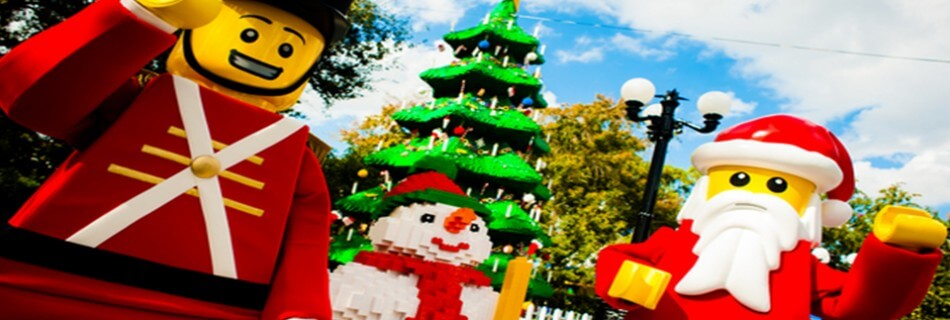 Experience a Christmas Bricktacular at LEGOLAND