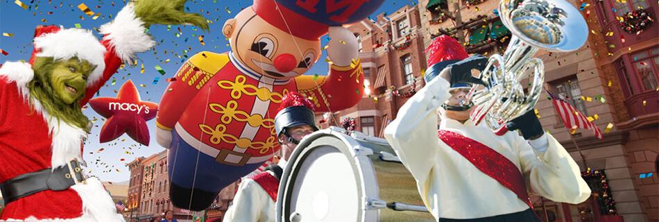 Macy's Parade & Grinchmas at Universal Orlando