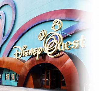 Orlando area attractions disney quest villadirect Orlando Florida vacation rentals