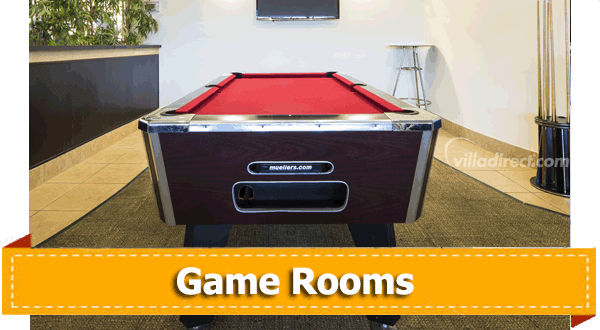 Unique home features game room