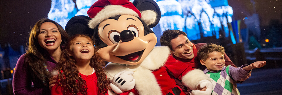 Holidays at Disney World