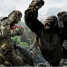 Skull Island: Reign of Kong at Universal Studios.
