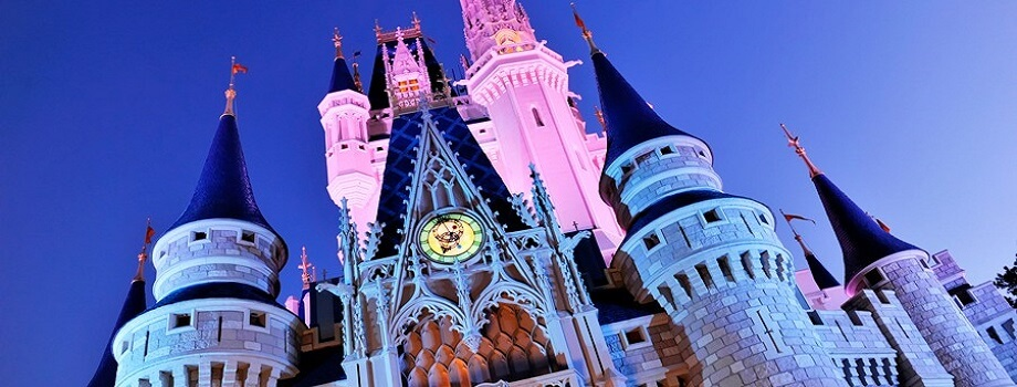 Disney Vacation Rentals get you so close to Disney's Magic Kingdom