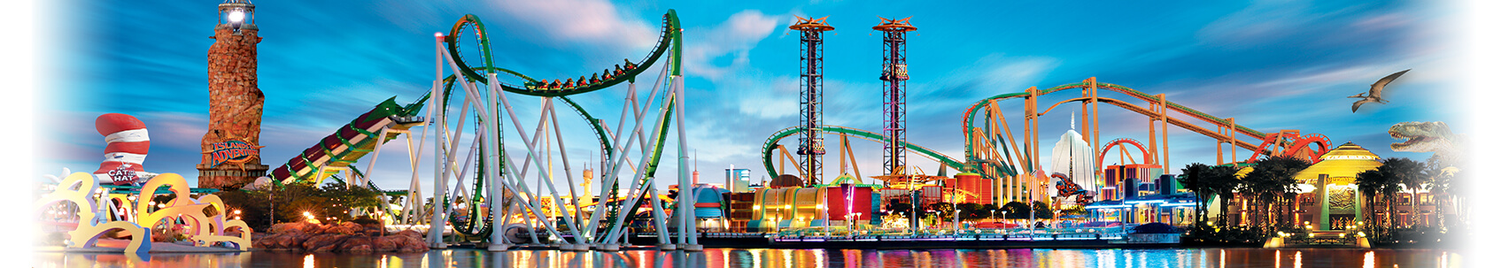 Orlando theme parks and attractions