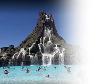 The Volcano Bay water park at Universal Orlando