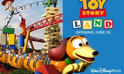 Toy Storey Land at Hollywood Studios