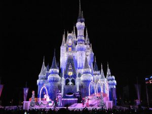 Disney World is the place to be for the holidays in Orlando