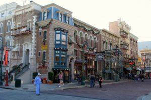 Universal Studios is the coolest place to spend the holidays in Orlando