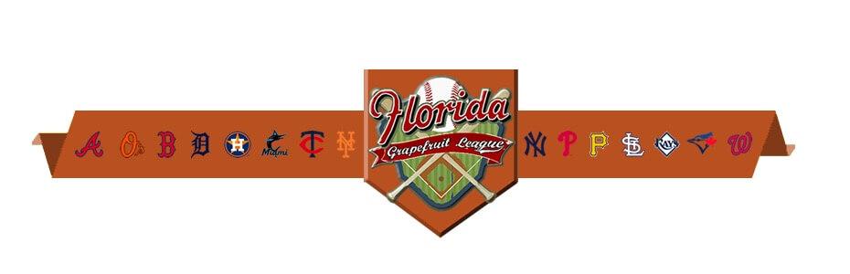 MLB Spring Training in Florida Grapefruit League