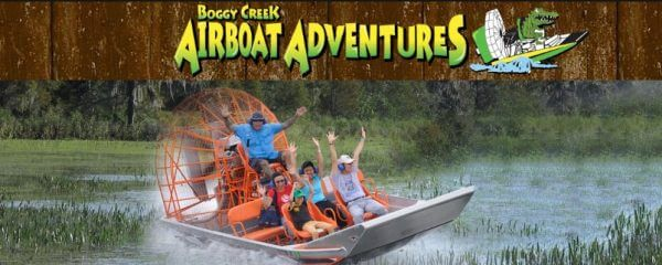 Experience the Thrill of Boggy Creek Airboat Rides