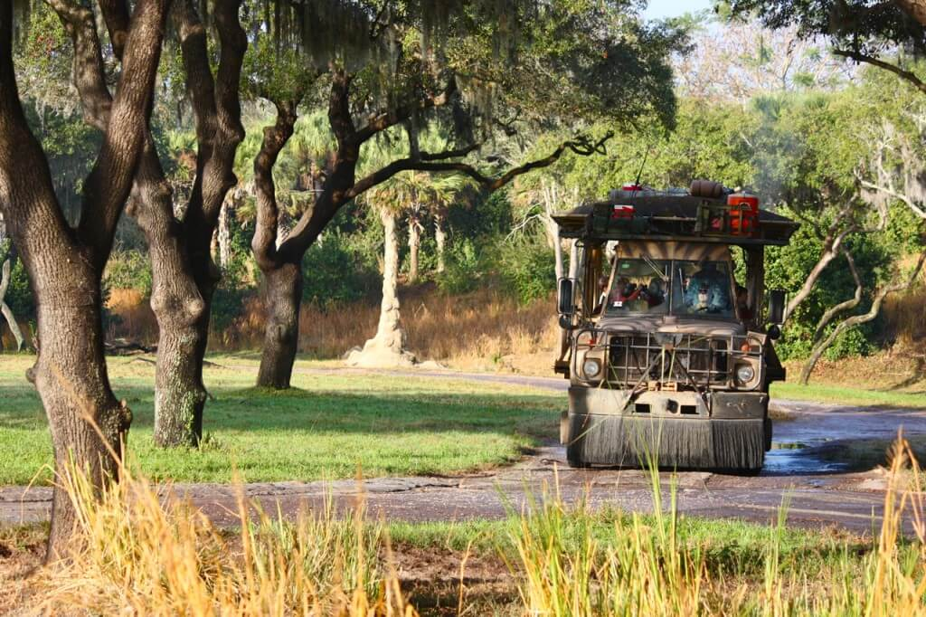 Backstage Safari Disney Animal Encounters VillaDirect Orlando Florida Vacation Rentals