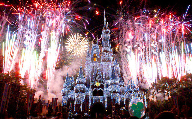 Disney Castle New Year 2 VillaDirect Orlando Florida Vacation Rentals