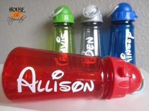 Disney Water Bottles Visiting Disney World in Summer