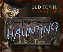 Legends A Haunting at Old Town Halloween Orlando VillaDirect Vacation Homes