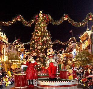 Mickey's Very Merry Christmas Party Orlando during the holidays