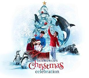 Seaworld Christmas Celebration Orlando during the holidays