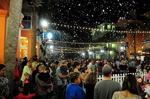 Snowing in Celebration Florida Orlando VillaDirect Vacation Homes