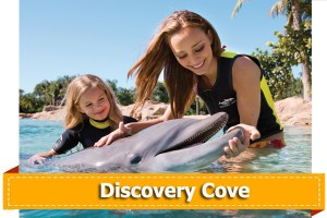 Discount tickets for Discovery Cove Orlando