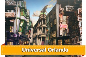 Theme park tickets for Universal Studios Orlando